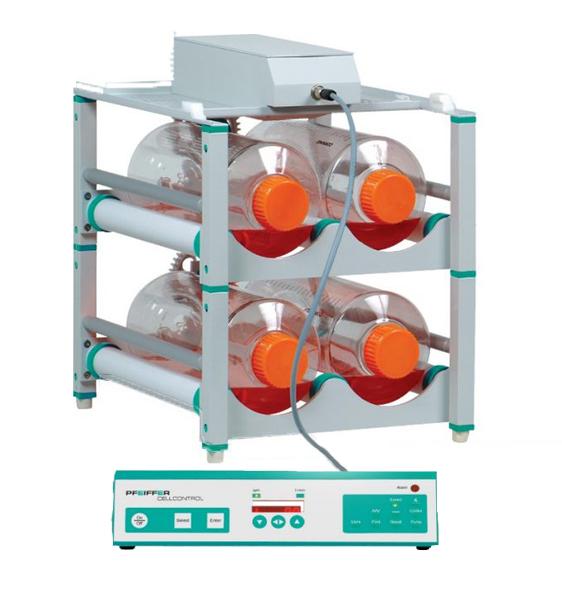 Produktfoto CELLLROLL System für die Zellkultivierung in Rollerflaschen