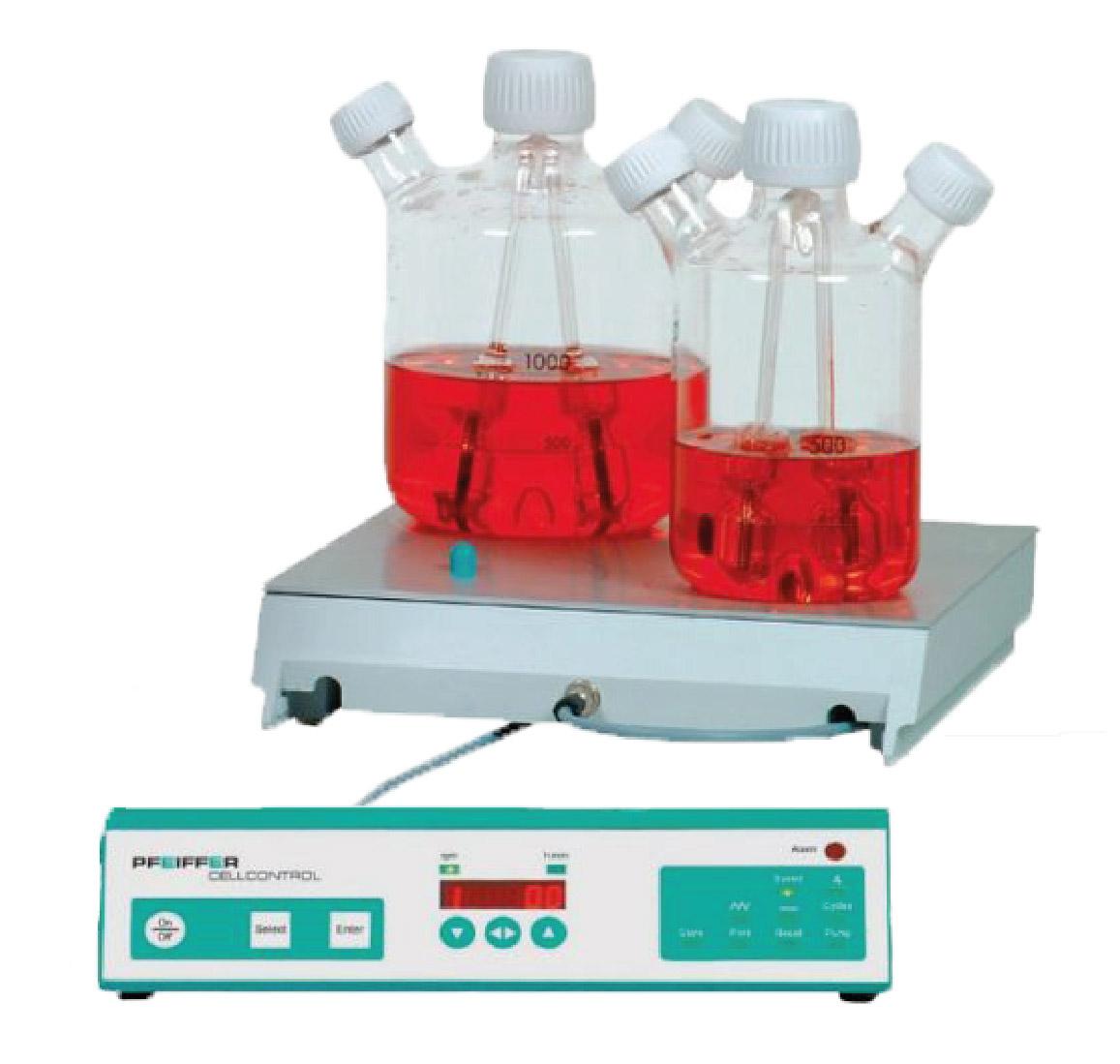 Produktfoto CELLSPIN System für Zellkultivierung in Spinnerflaschen