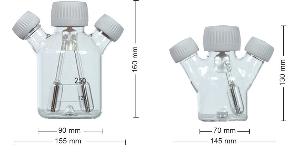 CELLSPIN spinner flasks 100 ml and 250 ml