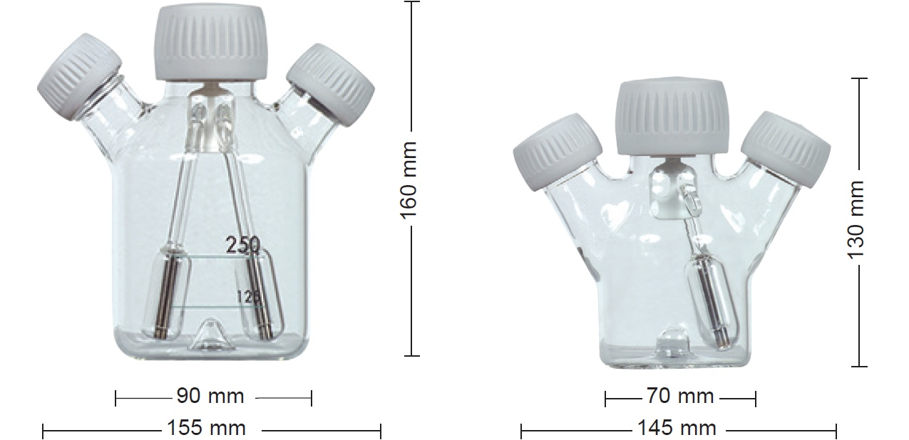 CELLSPIN Spinnerflaschen 100 ml und 250 ml